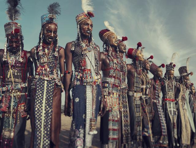 , 'XXVIII 1 Wodaabe, Gerewol, Chad,' 2016, Atlas Gallery
