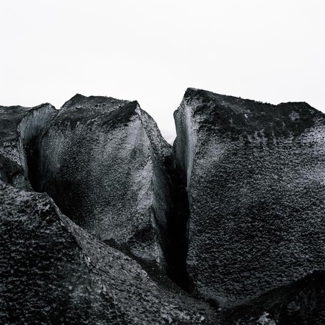 , 'gletscherritze,' 2014, galerie burster