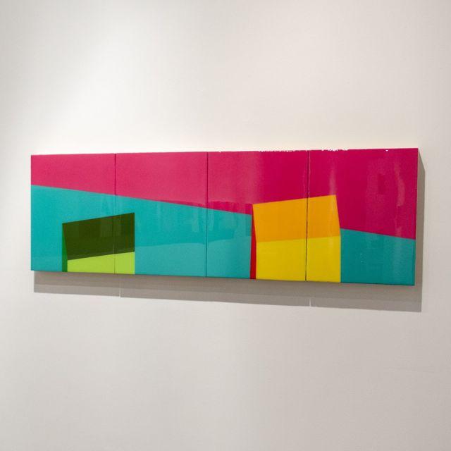 , 'Cubix,' 2018, Galleri Urbane