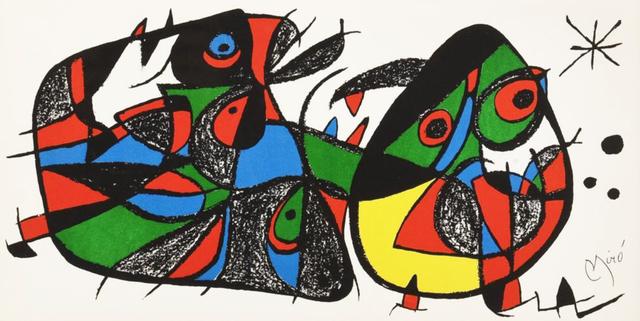 Joan Miró, 'Miró, Sculptor Italy', 1974, Hans den Hollander Prints