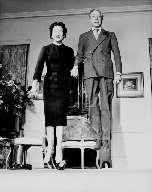 , ' Duke and Duchess of Windsor,' 1956, °CLAIR Galerie