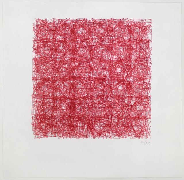 , 'Structure de Quadrilatères (Square Structures),' 1985, Senior & Shopmaker Gallery
