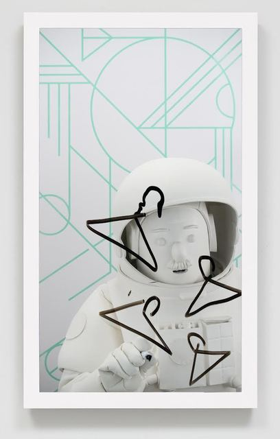 , 'Astronaut (on mint dreamcatcher),' 2018, Josh Lilley