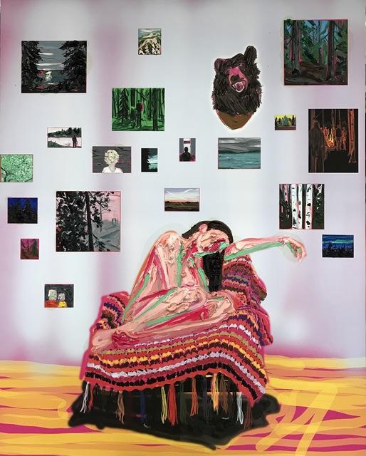 Kim Dorland, 'Living Room', 2017, Galerie Antoine Ertaskiran