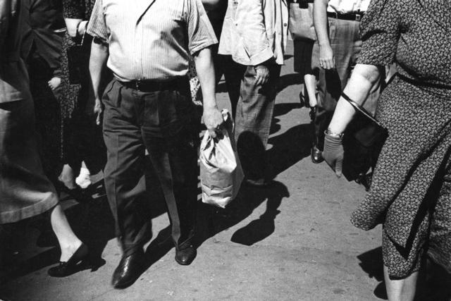 , 'Midday Crowd,' ca. 1939, Tibor de Nagy