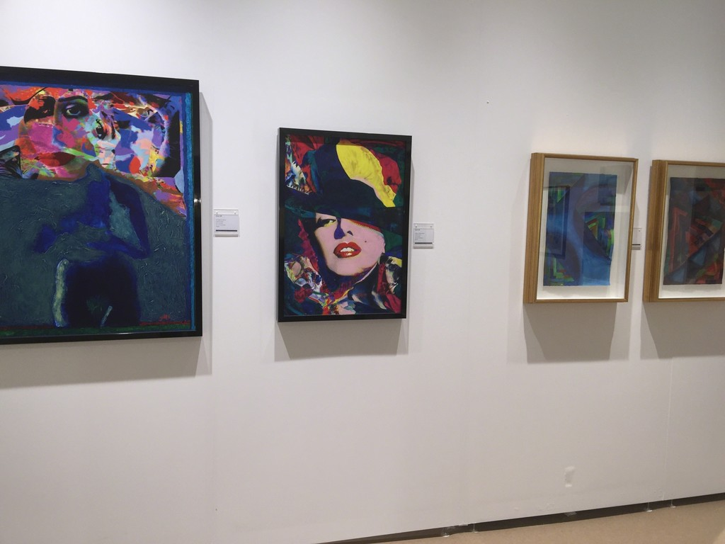 James Gill's Artwork at Art Southampton 2015