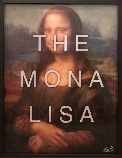 , 'The Mona Lisa / Ah Not a Smile,' 2015, HG Contemporary