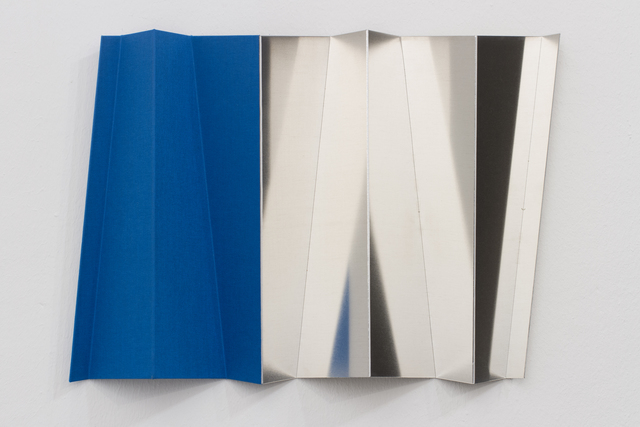 , 'Roof Study (Tent Monument blue),' 2015, Georg Kargl Fine Arts