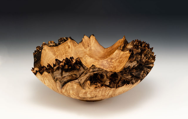 , 'Maple Burl Tri-Crater Bowl,' 2018, Wood Symphony Gallery