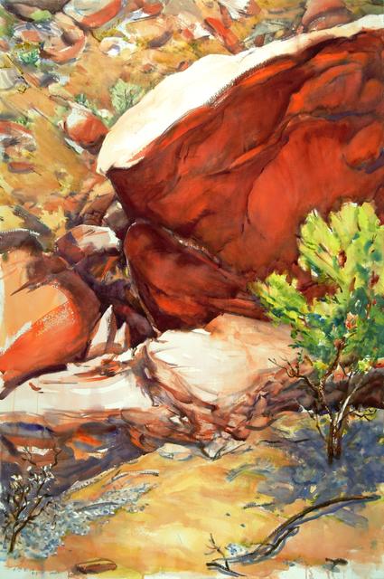, '4 PM Bush,' 2015, Bruno David Gallery