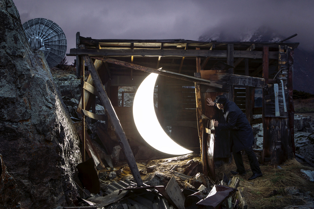 Leonid Tishkov, 'Private Moon in Tiang Shang observatory in Kazan', 2013, Galerıe Blue Square