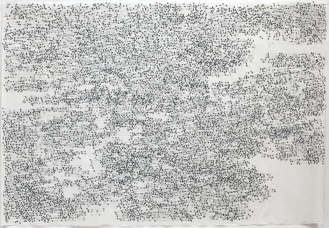 , 'Tuaq (lump on old ice frozen into new ice),' 2009, DANESE/COREY