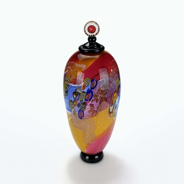 , 'Colorfield Glass Jar II,' 2018, OTA Contemporary