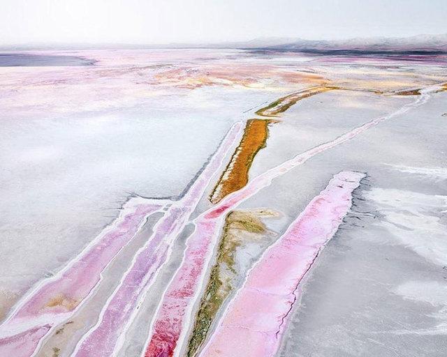 David Burdeny, 'Chloine Plant 2, Great Salt Lake, Utah, USA', 2017, CHROMA GALLERY