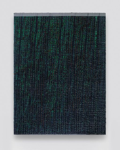 , 'One Grey Line- Blue and Green,' 2019, Aye Gallery