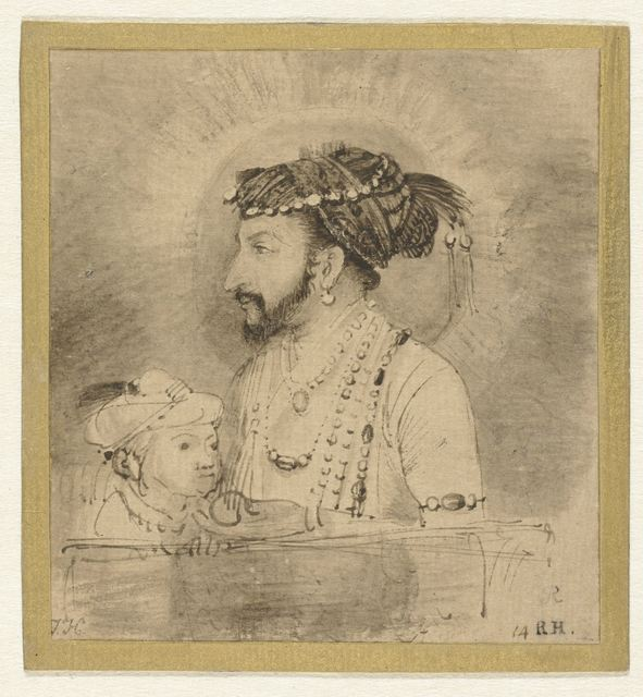 , 'Shah Jahan and His Son,' 1656-1658, Rijksmuseum