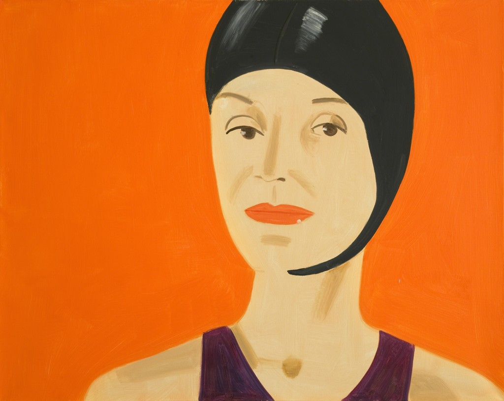 Alex Katz, 'Bathing Cap (Suzette),' 2010, Javier Lopez & Fer Frances