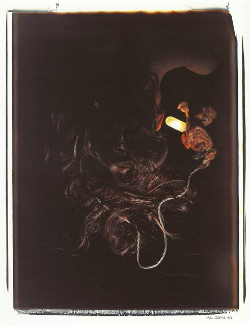, 'Meat Abstract No. 7: Hair and Entrails,' 1989, Richard Saltoun