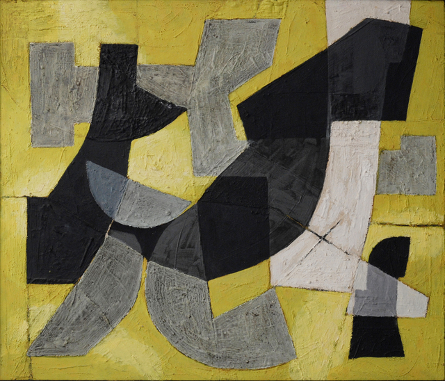, 'Gesang einer Stadt (Composition of Gelb),' 1952, Dep Art