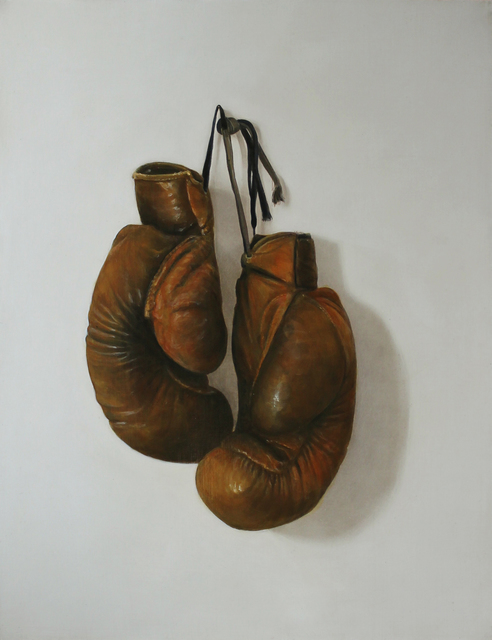 , 'Boxing Gloves,' 2016, Clark Gallery