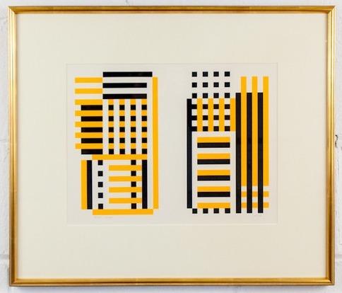 Josef Albers, 'EA', 1973, Caviar20