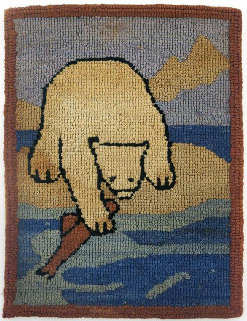 , 'Polar Bear Grabbing Fish,' ca. 1936, Edward Thorp Gallery