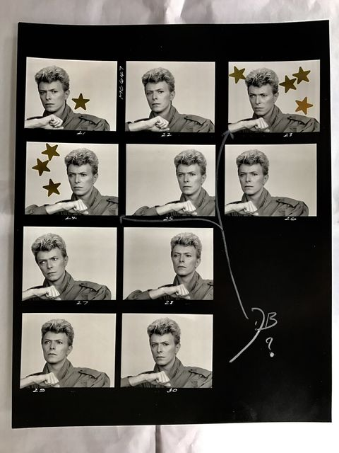 , 'David Bowie in Tony McGee's Studio ,' 1983, Imitate Modern
