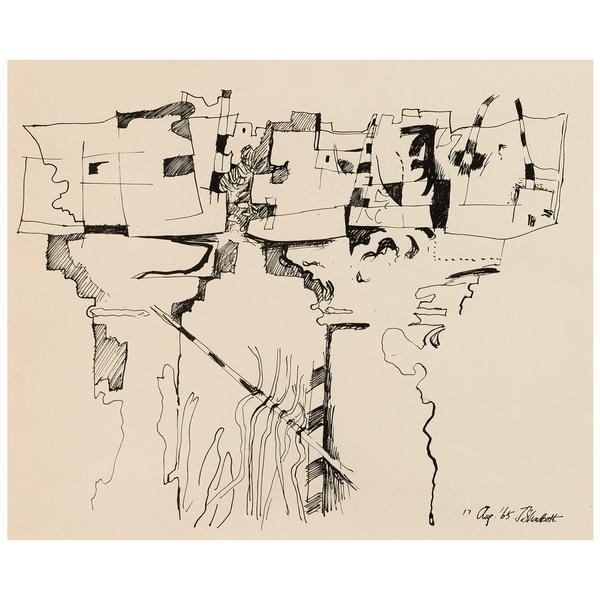 Jack Shadbolt, 'Column Study', 1965, Caviar20