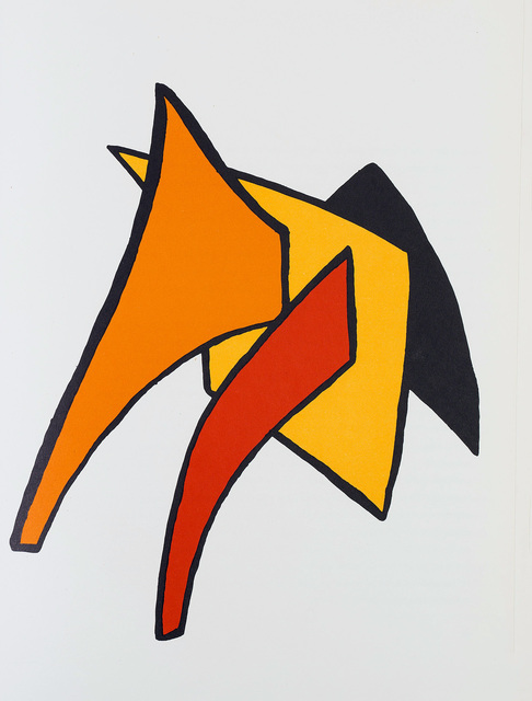 Alexander Calder, 'Alexander Calder Stabiles lithograph 1963 (Calder prints)', 1963, Lot 180