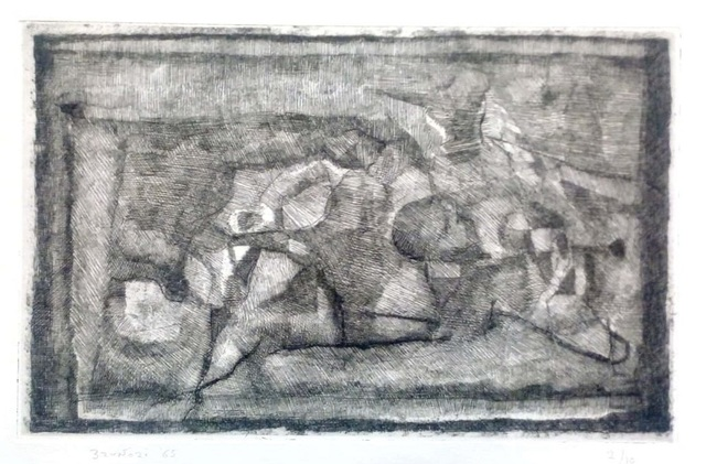 Enzo Brunori, 'Lying Figures', 1965, Wallector