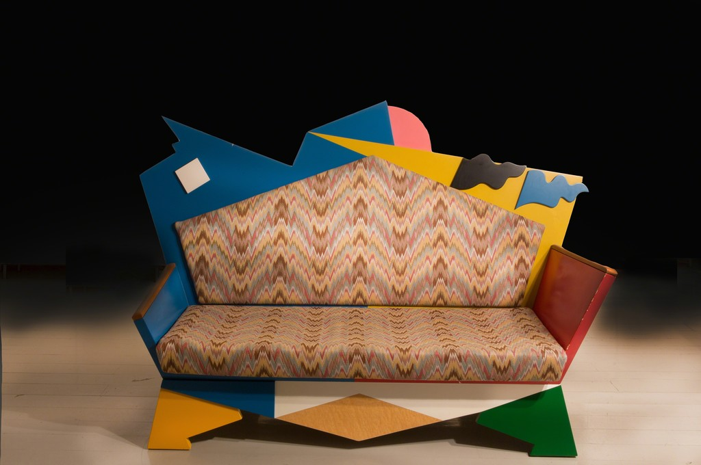 ammann//gallery goes ammann//projects Alessandro Mendini, 'Kandissi' Sofa, Bauhaus Collection, 1978 courtesy ammann//gallery