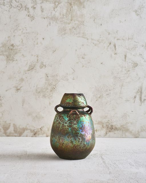 Clément Massier, 'Berries Vase', 1897, Jason Jacques Gallery