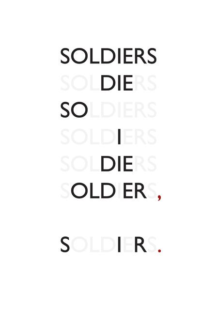 Rowan Ottesen, 'Soldiers', 2014, Mixer