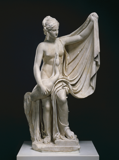 'Statue of Leda and the Swan',  1st century, Marble, J. Paul Getty Museum