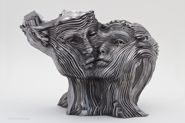 Gil Bruvel, 'Flowing', Sculpture, Stainless steel, Octavia Art Gallery