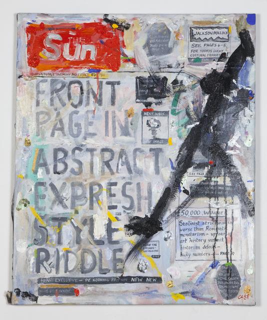 , 'Sun,' 1987, Ronald Feldman Gallery