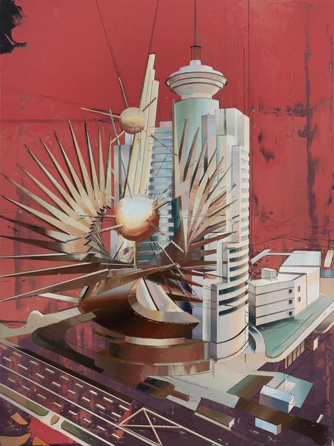 , 'Shanghai Broadcasting Building,' 2018, Pilar Corrias Gallery