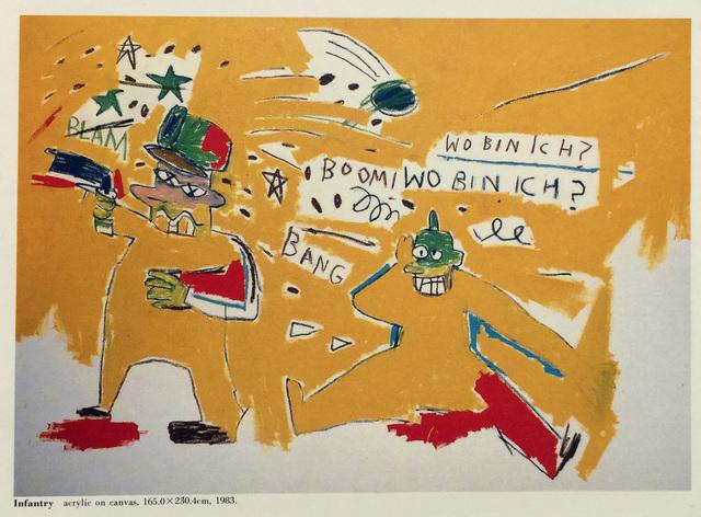 Jean-Michel Basquiat, 'Basquiat at PS Gallery (vintage 1980s Basquiat announcement) ', 1987, Ephemera or Merchandise, Offset printed, Lot 180