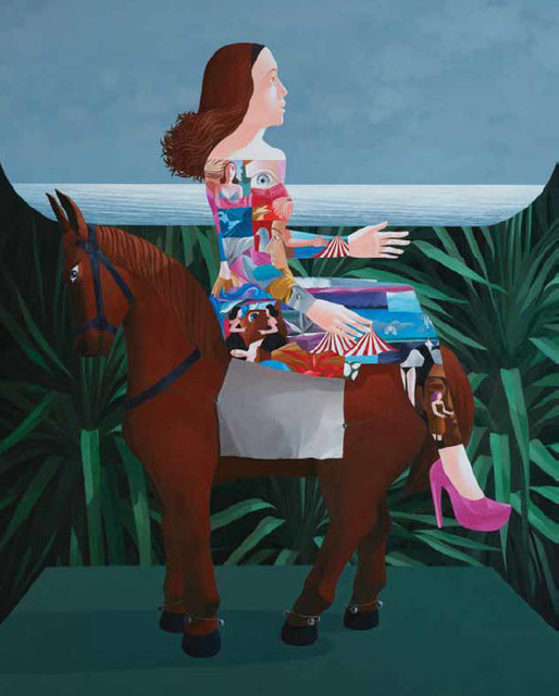 , 'Woman on Horseback,' 2014, Ode to Art