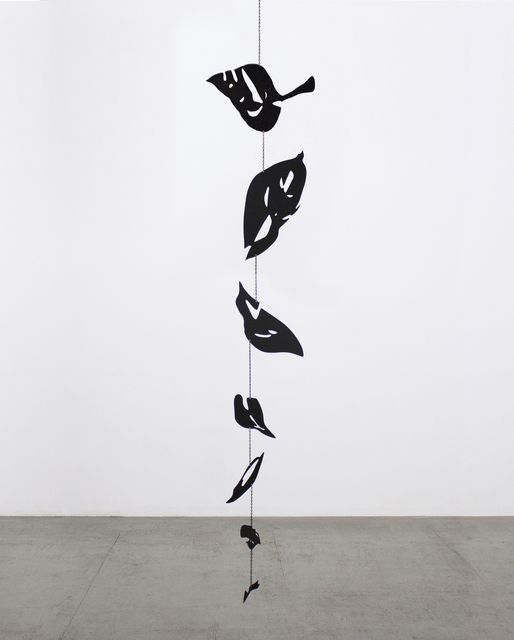 , 'Blind 57 ( Black Leaves),' 2018, Nohra Haime Gallery