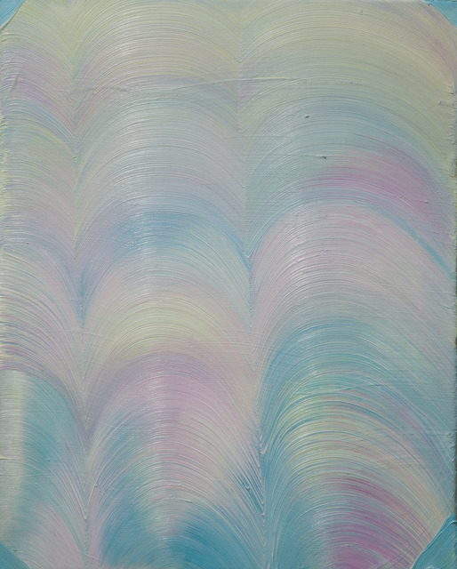 , 'A painting with pale blue corners,' 2012, Temnikova & Kasela
