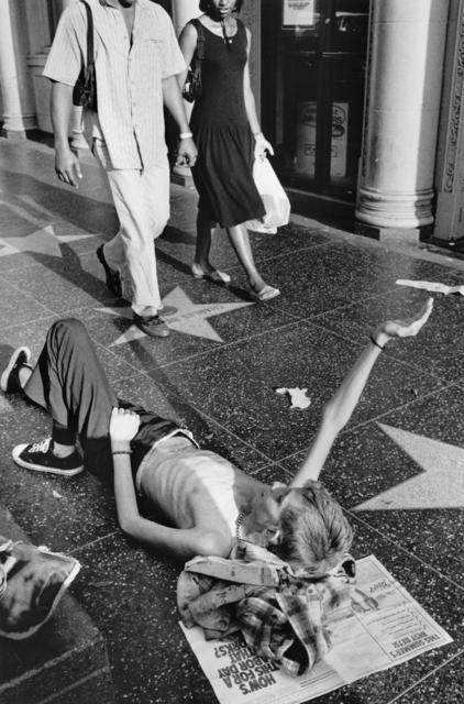 Jim Goldberg, 'Dave Panhandling, Los Angeles, California', 1988, Casemore Kirkeby