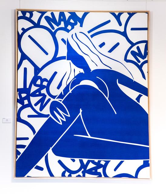 ", '""FEMME BLEUE"",' 2017, Modus Art Gallery"