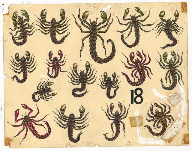 , 'Untitled (Scorpions),' ca. 1950, Ricco/Maresca Gallery