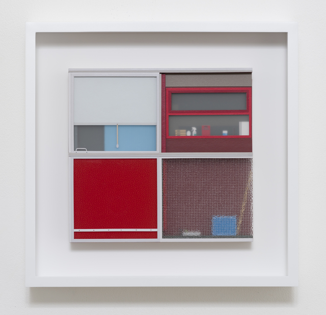 Lucy Williams, 'Basterfield House #3', 2015, Mixed Media, Plexiglas, paper, engineered wood, and acrylic paint on birch ply panel, Berggruen Gallery