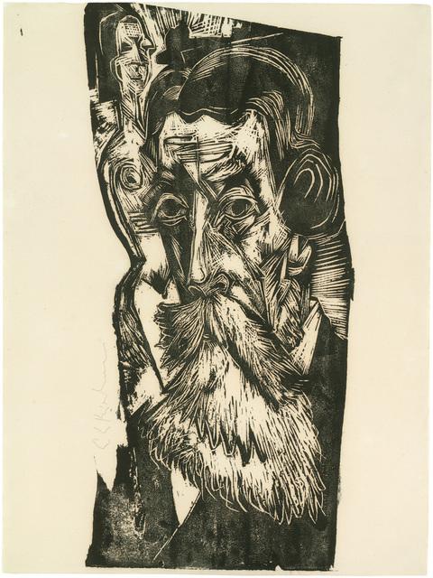 , 'Kopf Ludwig Schames,' 1918, Jörg Maass Kunsthandel