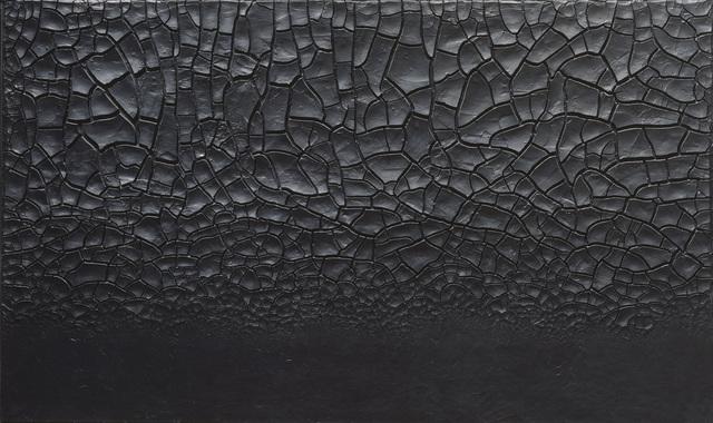 , 'Grande cretto nero (Large Black Cretto),' 1977, Guggenheim Museum