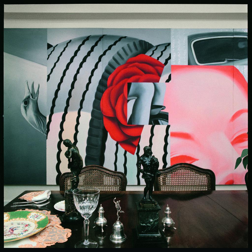 Ugo Mulas Sala Da Pranzo Di Casa Scull New York 1964 Available  #AE371D 1024 1024 Sala Da Pranzo Art Deco