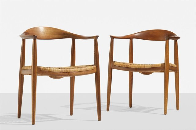 ", 'Set of two ""The Chair"" dining chairs,' 1948, Modernity"