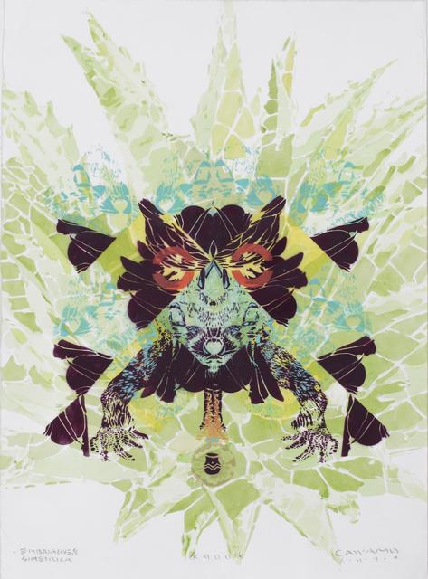 , 'Embriaguez Simétrica o Los 400 (Symmetrical Intoxication or The 400),' 2014, Sin Título Gallery